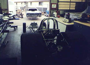 The Nitro Nova body and chassis face to face for the first time